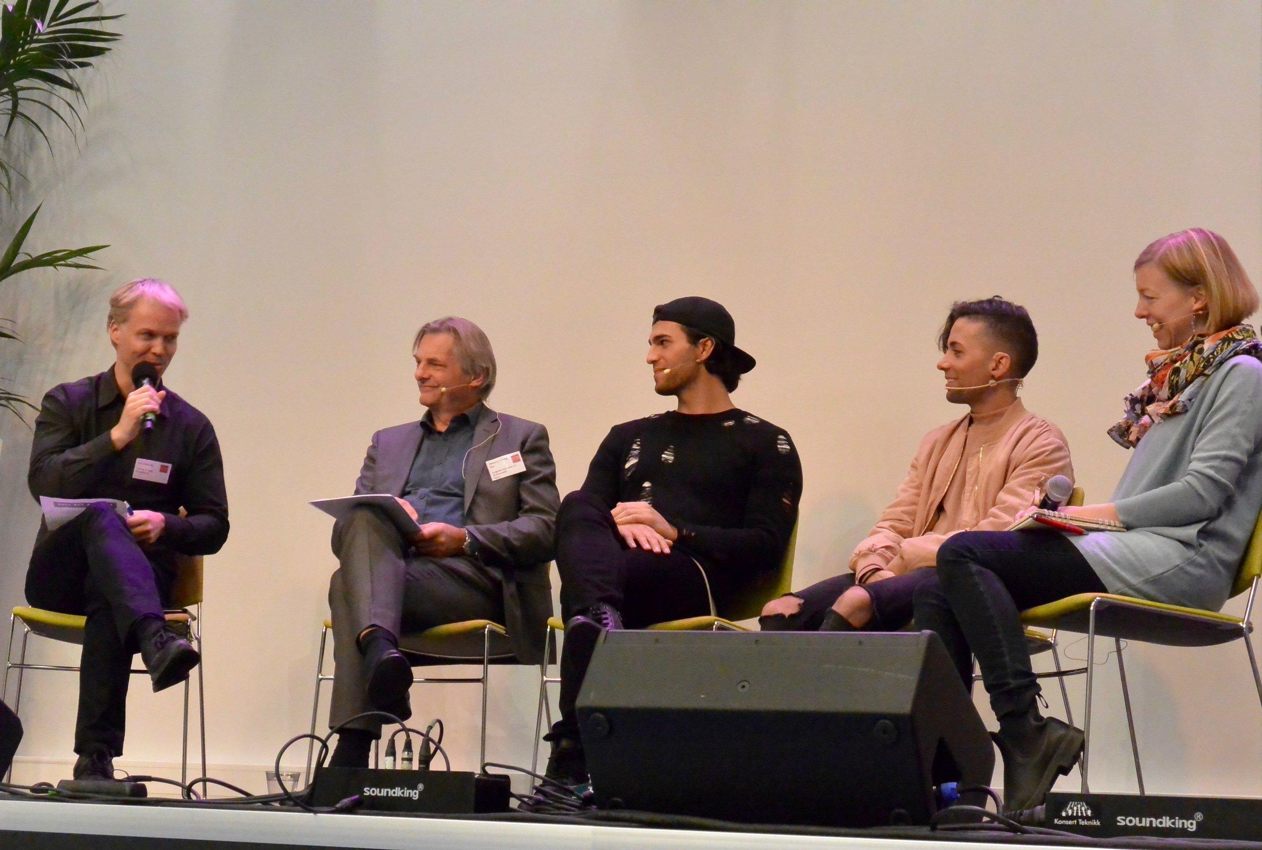 Jarle Flemvåg, Alexander Krohg Plur, Tooji, Omer Bhatti og Victoria Liedbergius