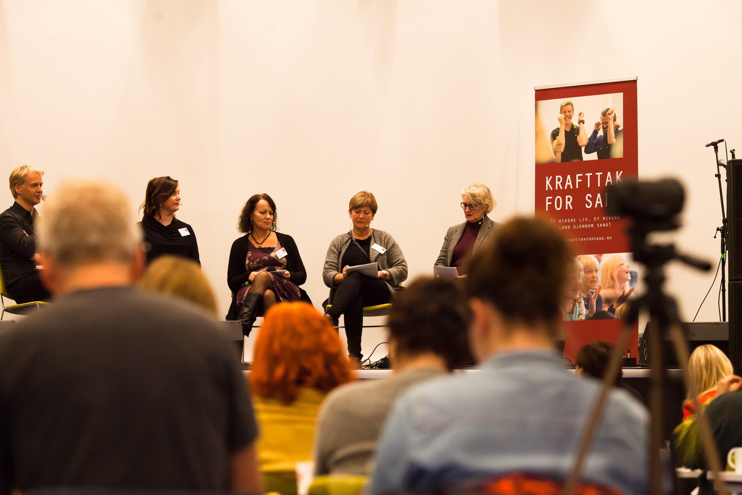 Jarle Flemvåg, Nora B. Kulset, Jorid Kvale og Anne-May Bäckman