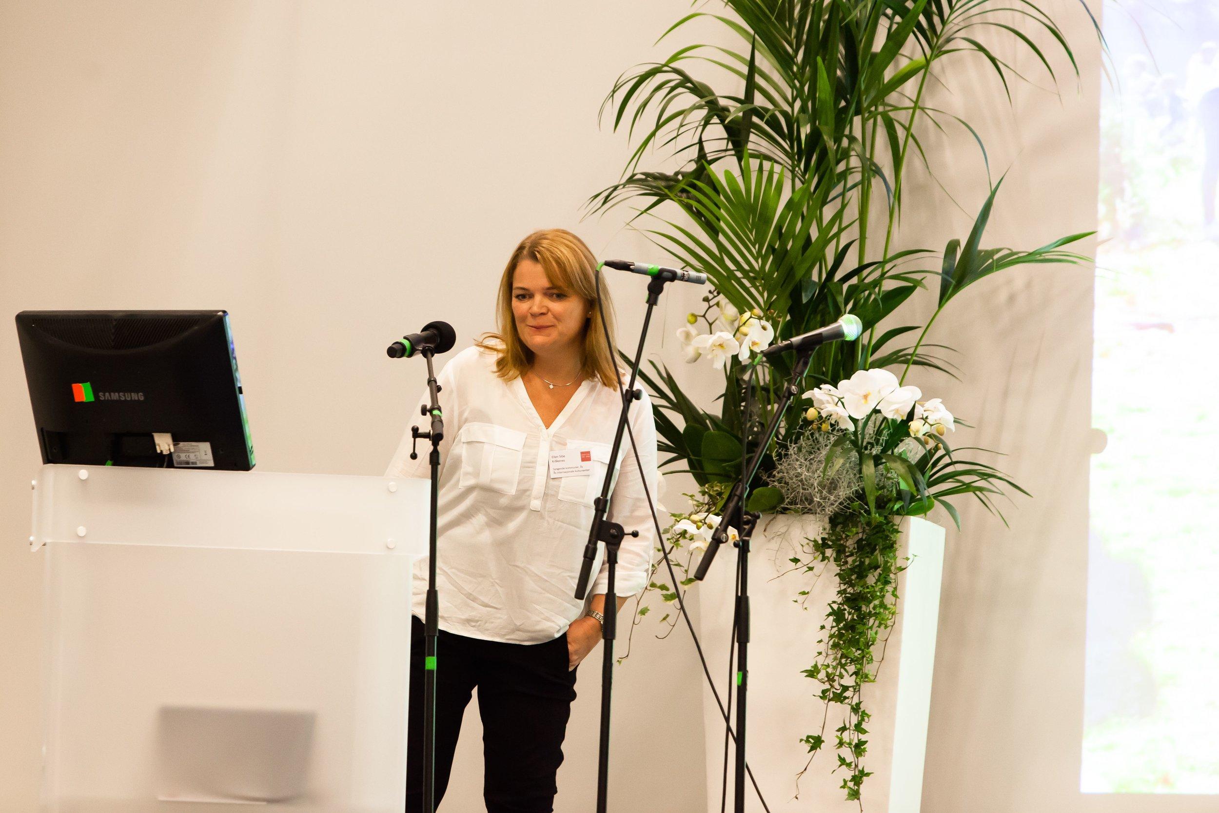 Ellen Wibe - Ås internasjonale kultursenter