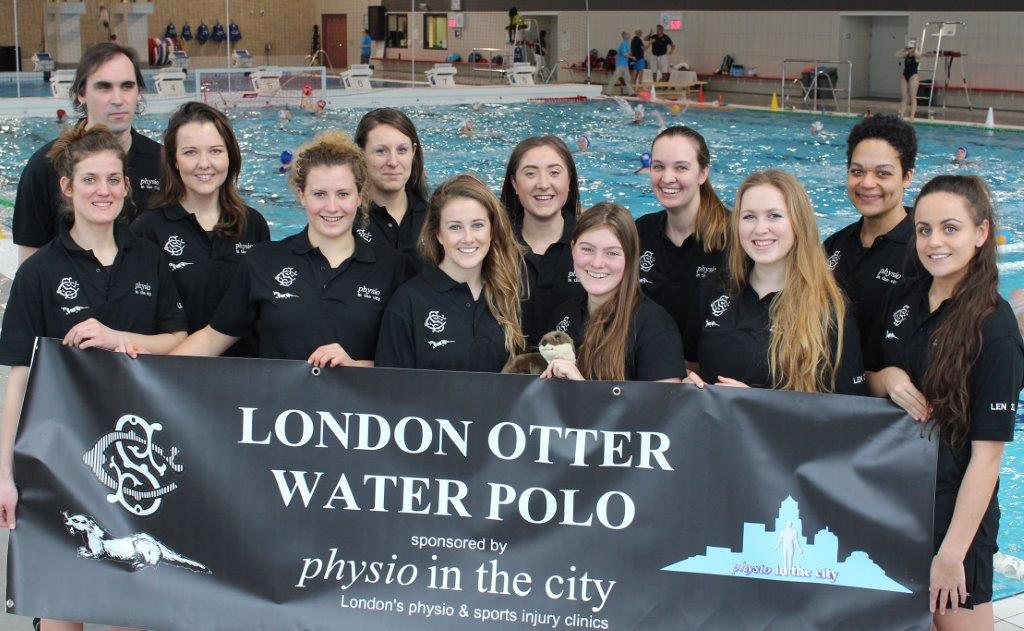 The London Otter team for LEN. Back Row: Nick Buller, Tracey, Lizzie, Holly, Kate, Peggy. Front Row: Claudia, Kathy, Lex, Mhairi, Izzy, Brooke. Absent: Rebecca & Sophie.