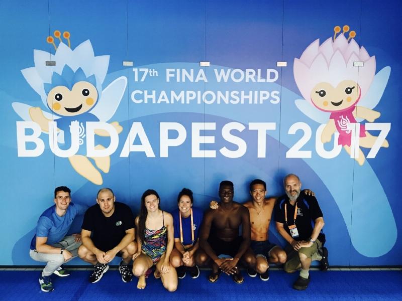 (left to right) Craig, Wade, Catherine, Sarah-Jane. Dontony, Matt & Coach Steve