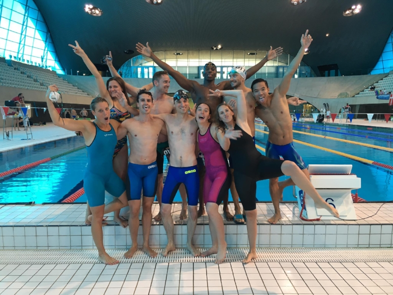 (left to right) Camille, Catherine, Craig, Dave, Christophe, Dontony, Alice, Kara, Etienne,Matt