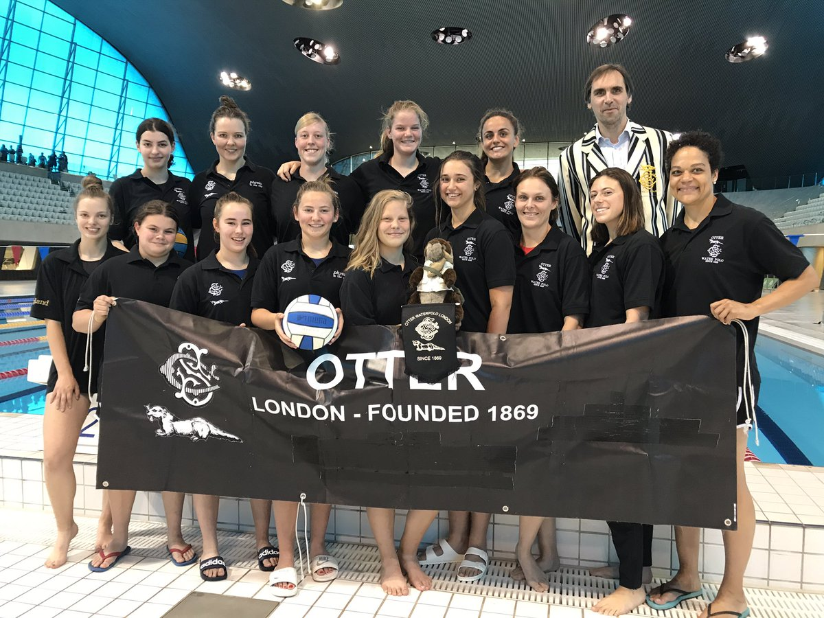 Otter Ladies Water Polo Team