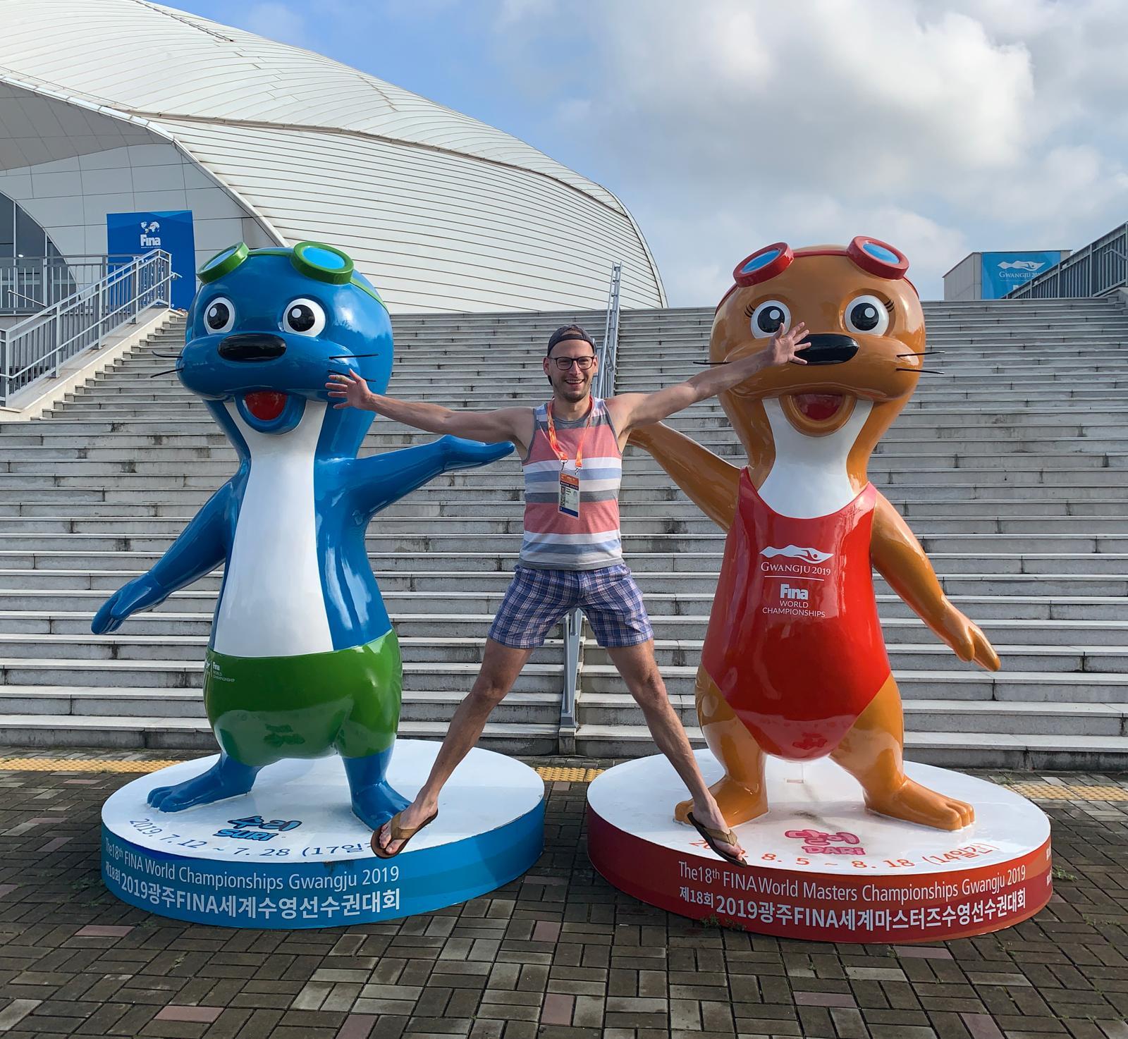 Enrico and the Gwangju Otters!