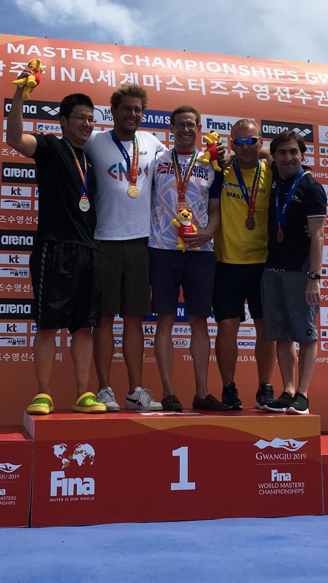 Pip's 800m Medal Ceremony