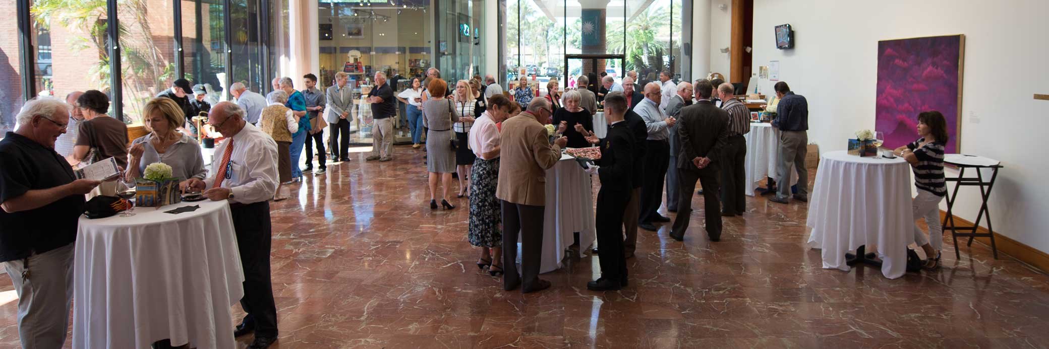 ...or a corporate reception, we can host your event.