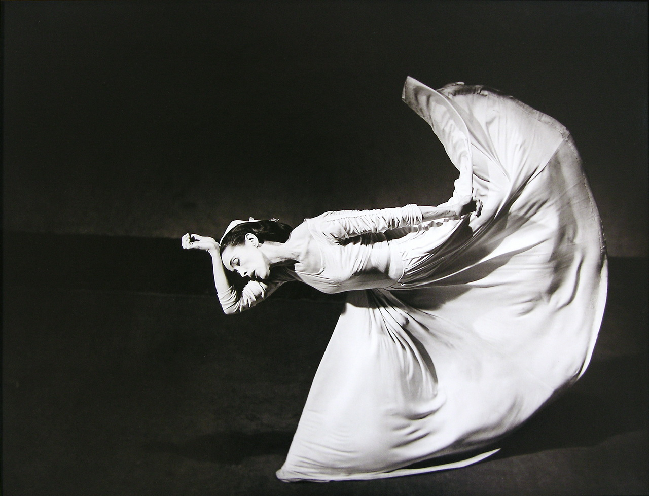Barbara Morgan,  Martha Graham, Letter to the World , 1940/1984, Gelatin silverprint, Purchased by the Art Resource Trust, Polk Museum of Art Permanent Collection 2005.1.1 © Barbara Morgan, The Barbara Morgan Archive.
