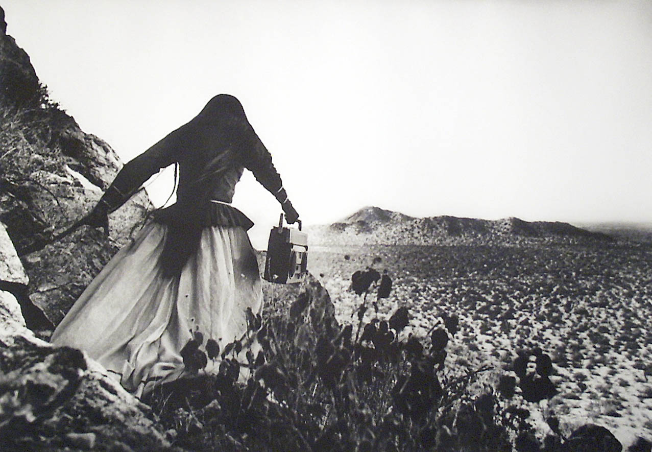 Graciela Iturbide,  Mujer/Angel (Women/Angel),  1996, Photograuve.