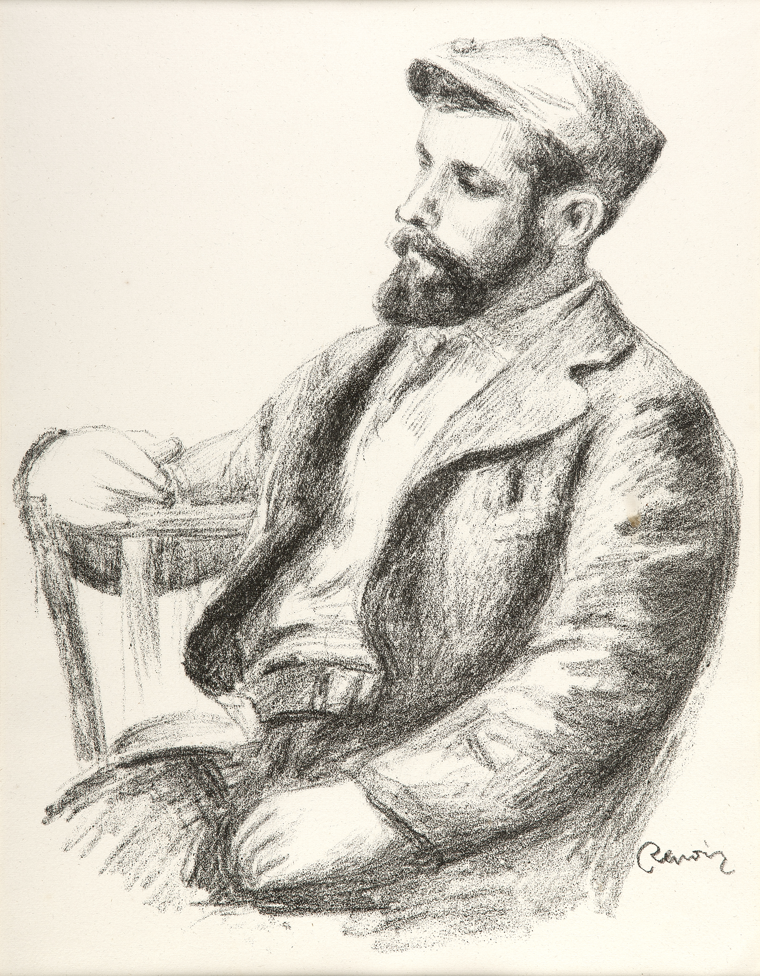 Pierre Auguste Renoir, 'Louis Valtat,' Image Courtesy of The Art Company .JPG
