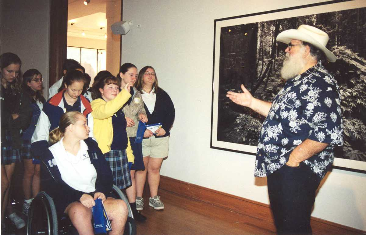Clyde Butcher with St. Paul Lutheran Students, Visions for the Next Millenium, 2001.