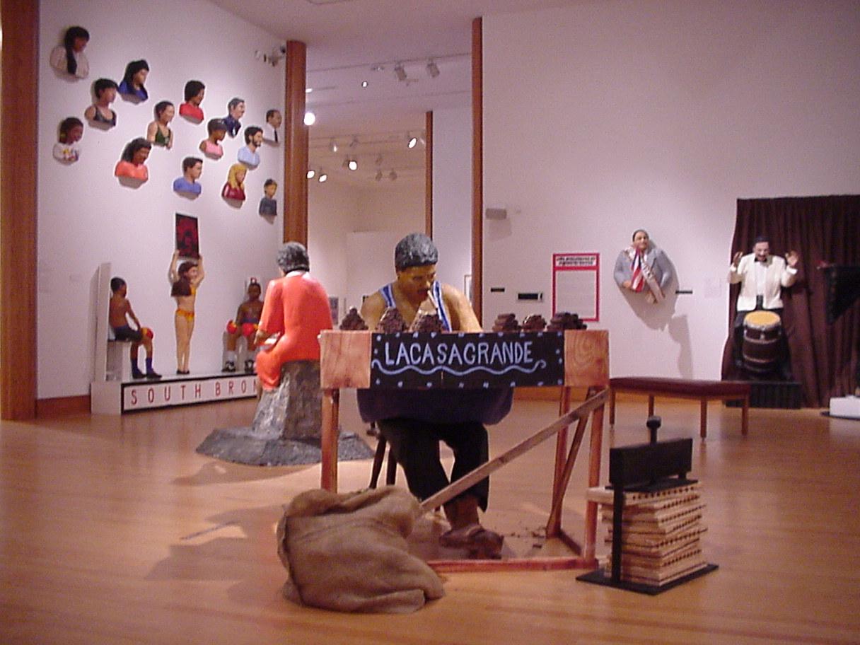 Life Sculptures by Rigoberto Torres, 2002-2003.