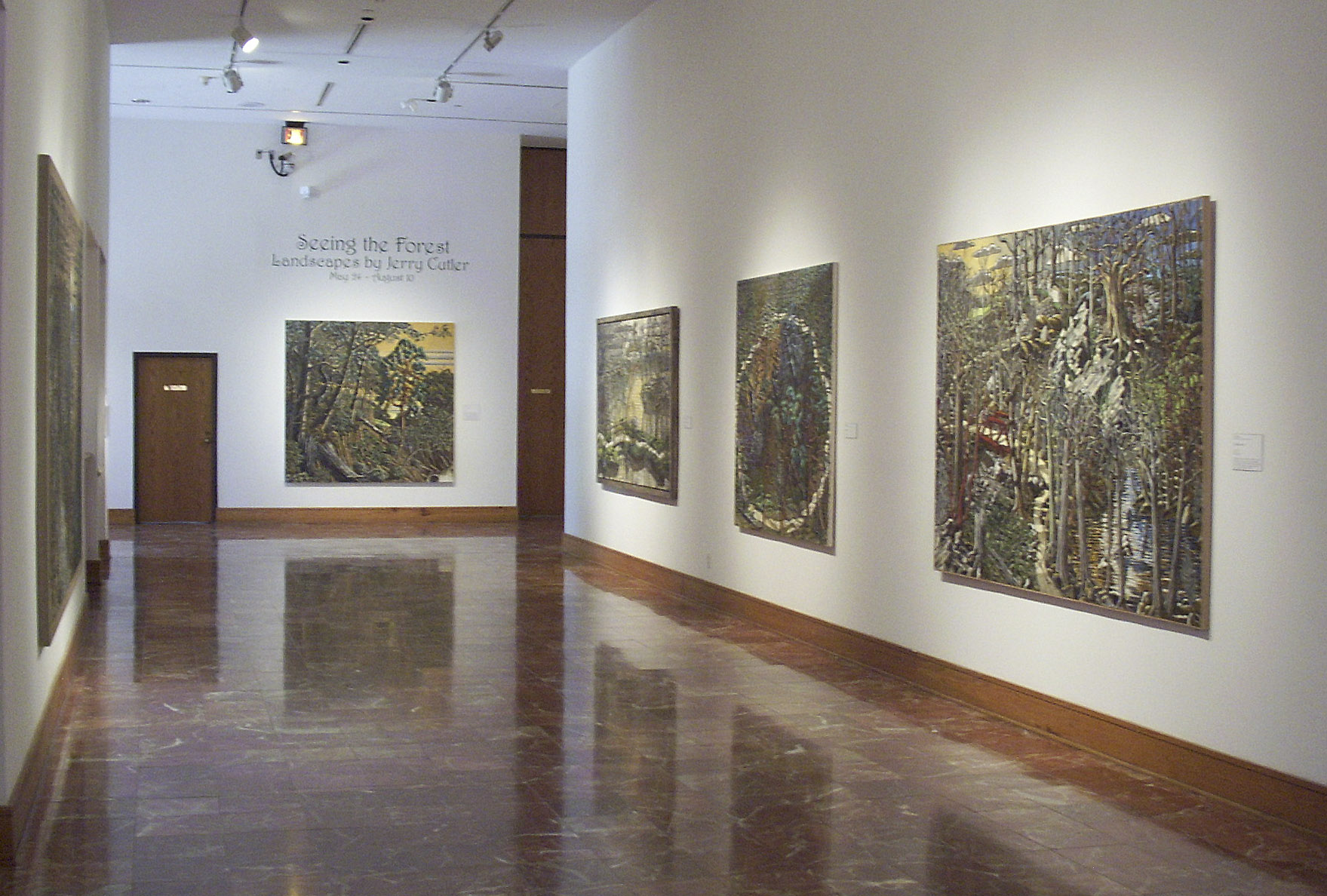 Seeing the Forest: Landscapes by Jerry Cutler, 2003.