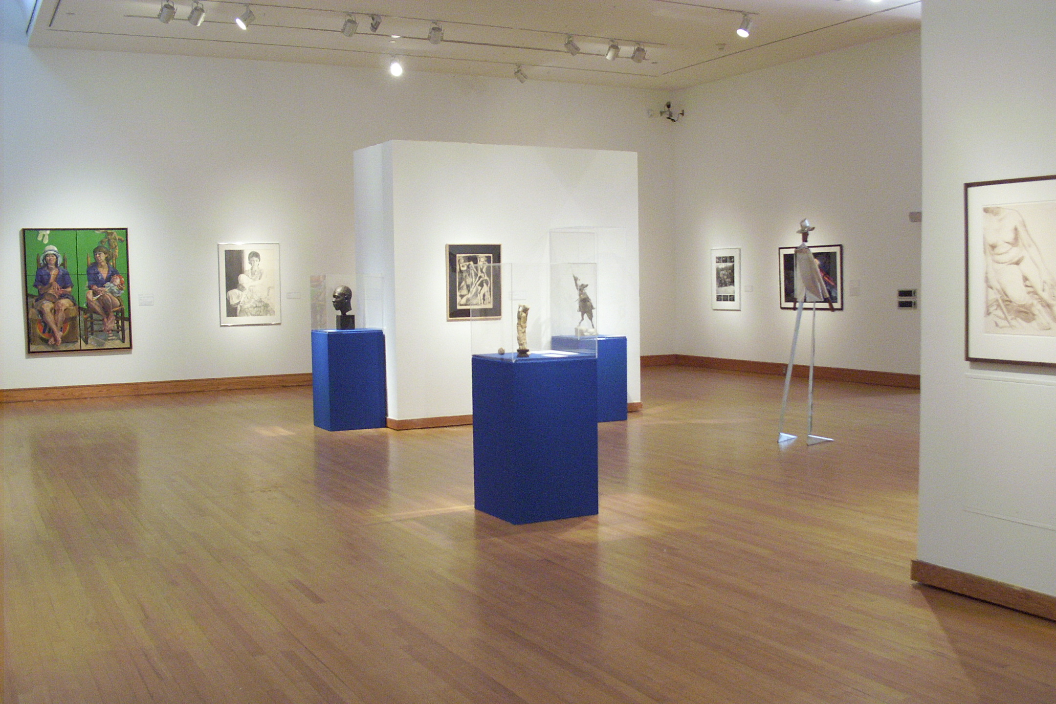 Stepping Away From the Mirror: Expressive Figurative WorkFrom the Polk Museum of Art permanent Collection,  2003.
