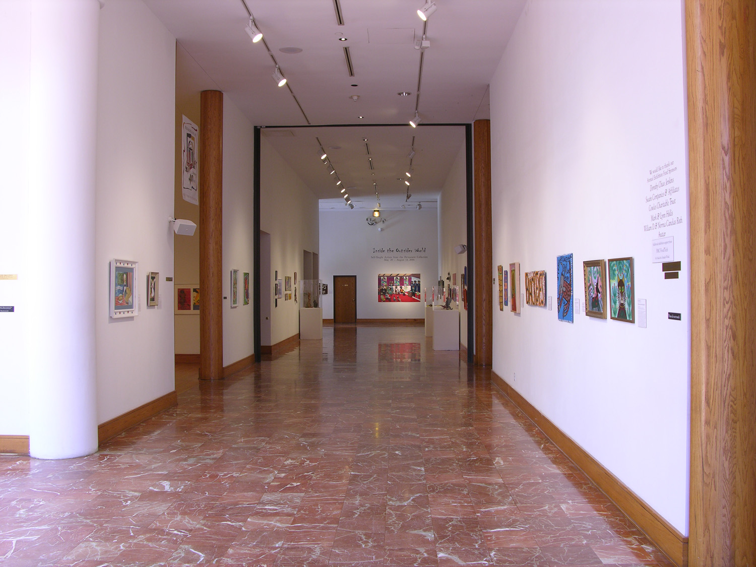 Inside the Outsider World: Folk Art From the Permanent Collection, 2006.