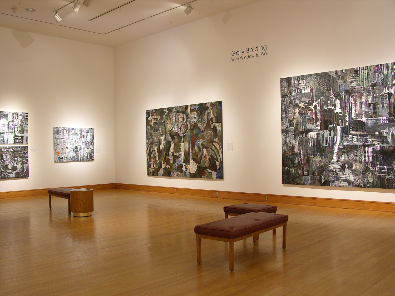 Gary Bolding: From Window to Wall, 2006-2007.