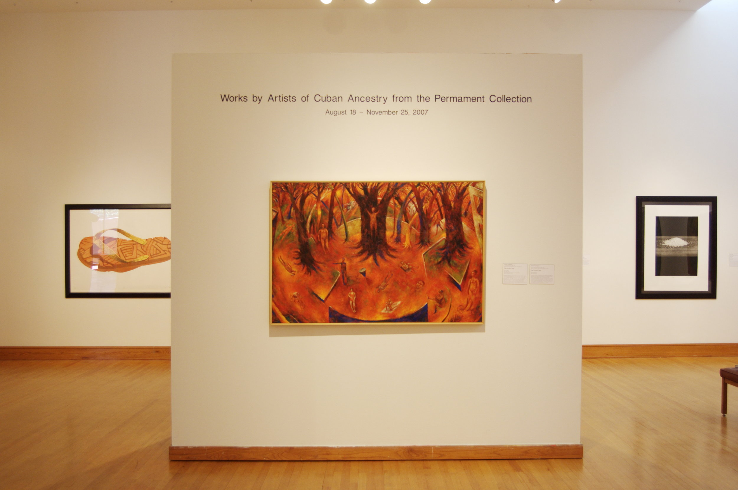 Works by Artists of Cuban Ancestry From the Permanent Collection, 2008.