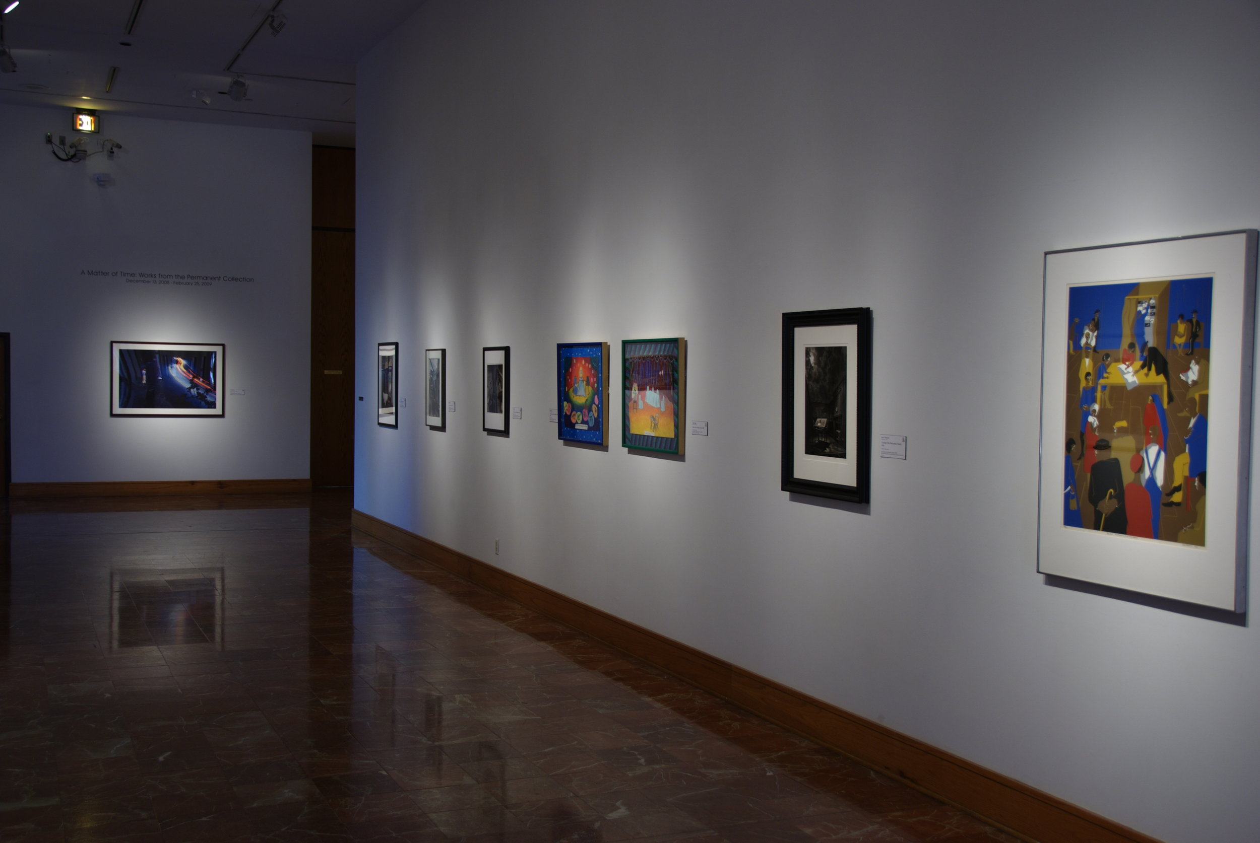 A Matter of Time: Works From the Permanent Collection,  2008-2009.