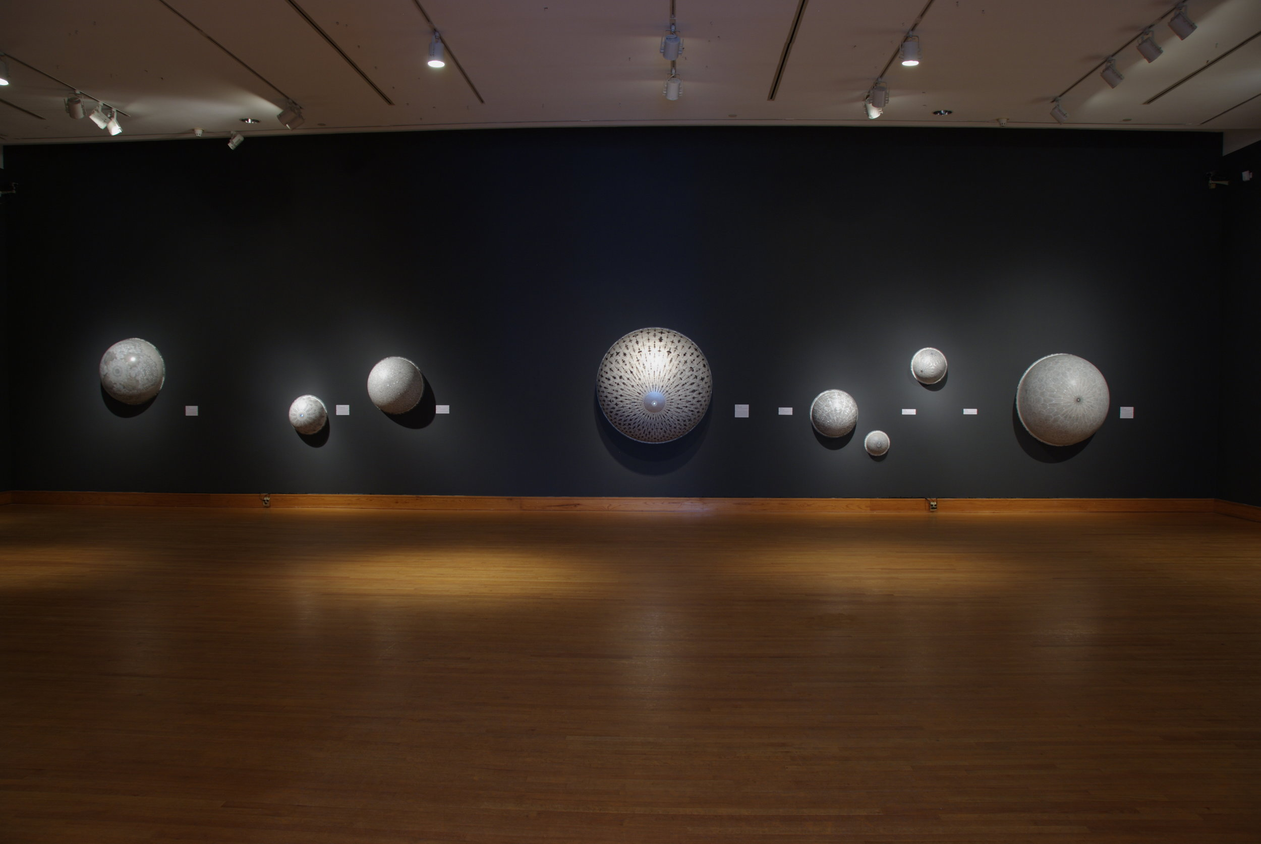Silver Linings: delicate Drawing by Carol Prusa, 2009.