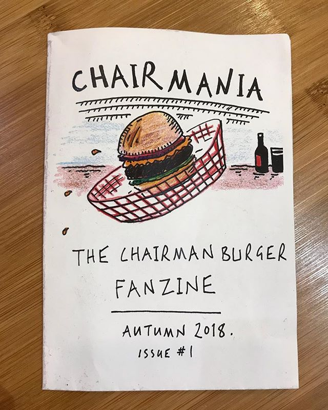 We've won plenty of awards but this tops them all. Handmade 'Chairman' fanzine from the Norlington School teachers. Handed into the @heathcotestar a couple of days ago. Chairmania Issue #1. Cant wait to see the Winter edition!