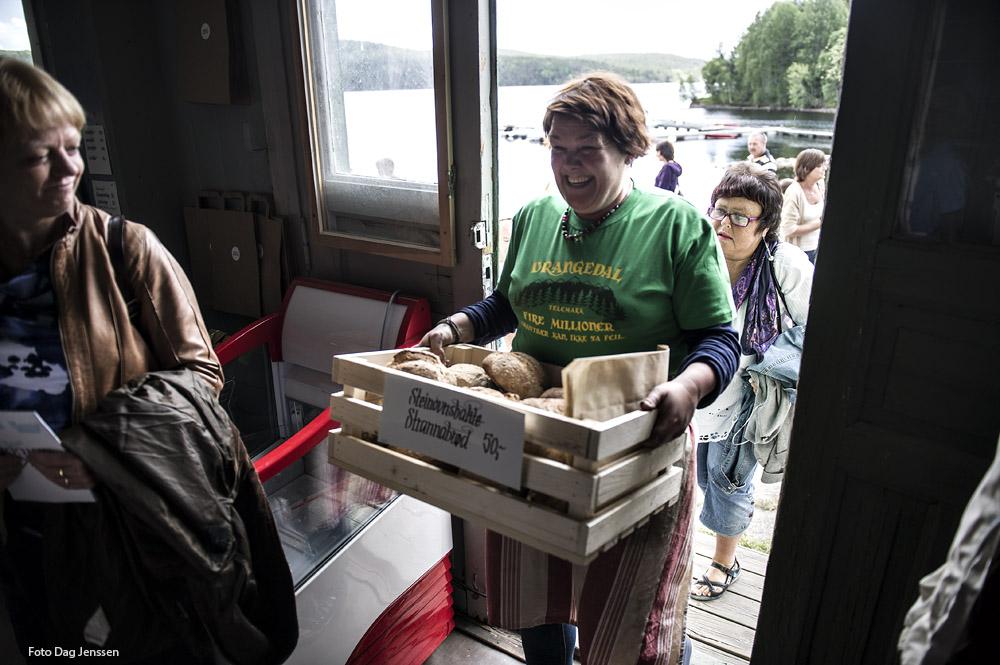 The baker Siv Svolsbru. Photo: Dag Jensen