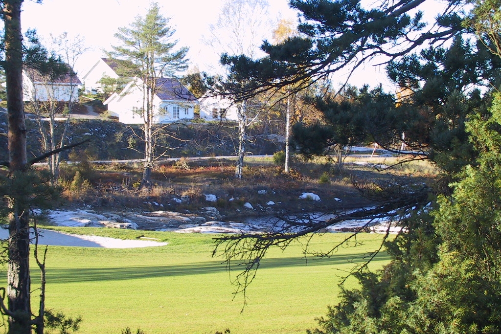 Naturlige overganger mellom terreng og golfanlegg er beholdt så langt det var mulig