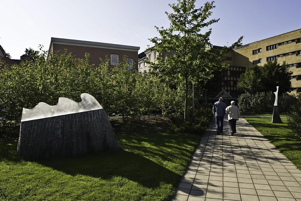 Skulptur Philip Dommen. Foto: Dag Jensen