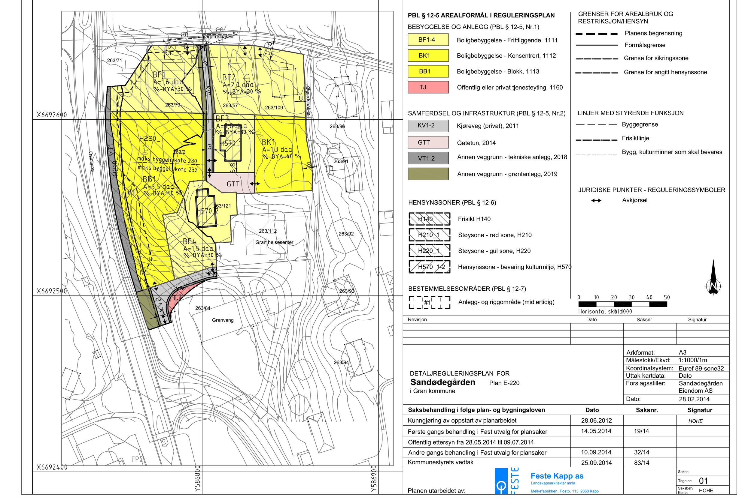 Plankart Sandødegården. vedtatt plan.jpg