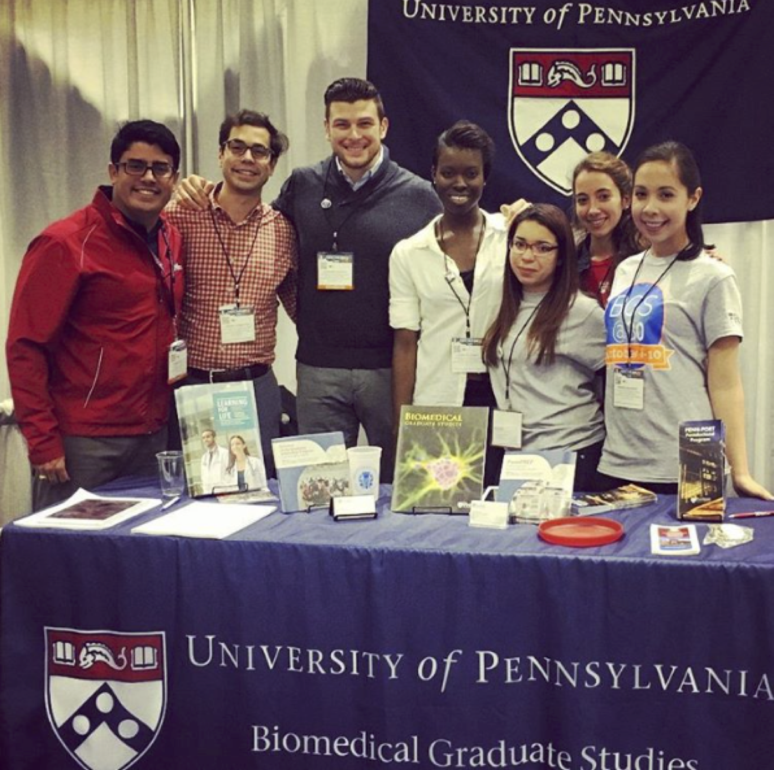 Penn students and faculty at the Annual Biomedical Research Conference for Minority Students (ABRCMS) 2015
