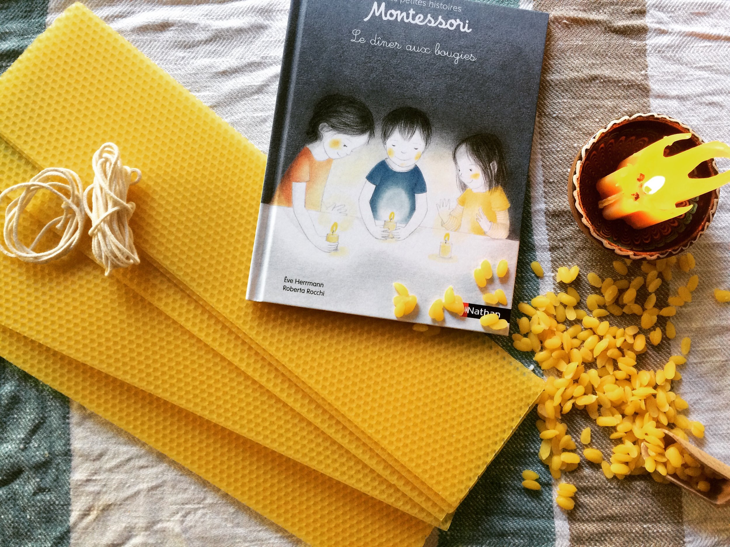 Children Crafts: Beeswax Candles DIY — Mothers Abroad