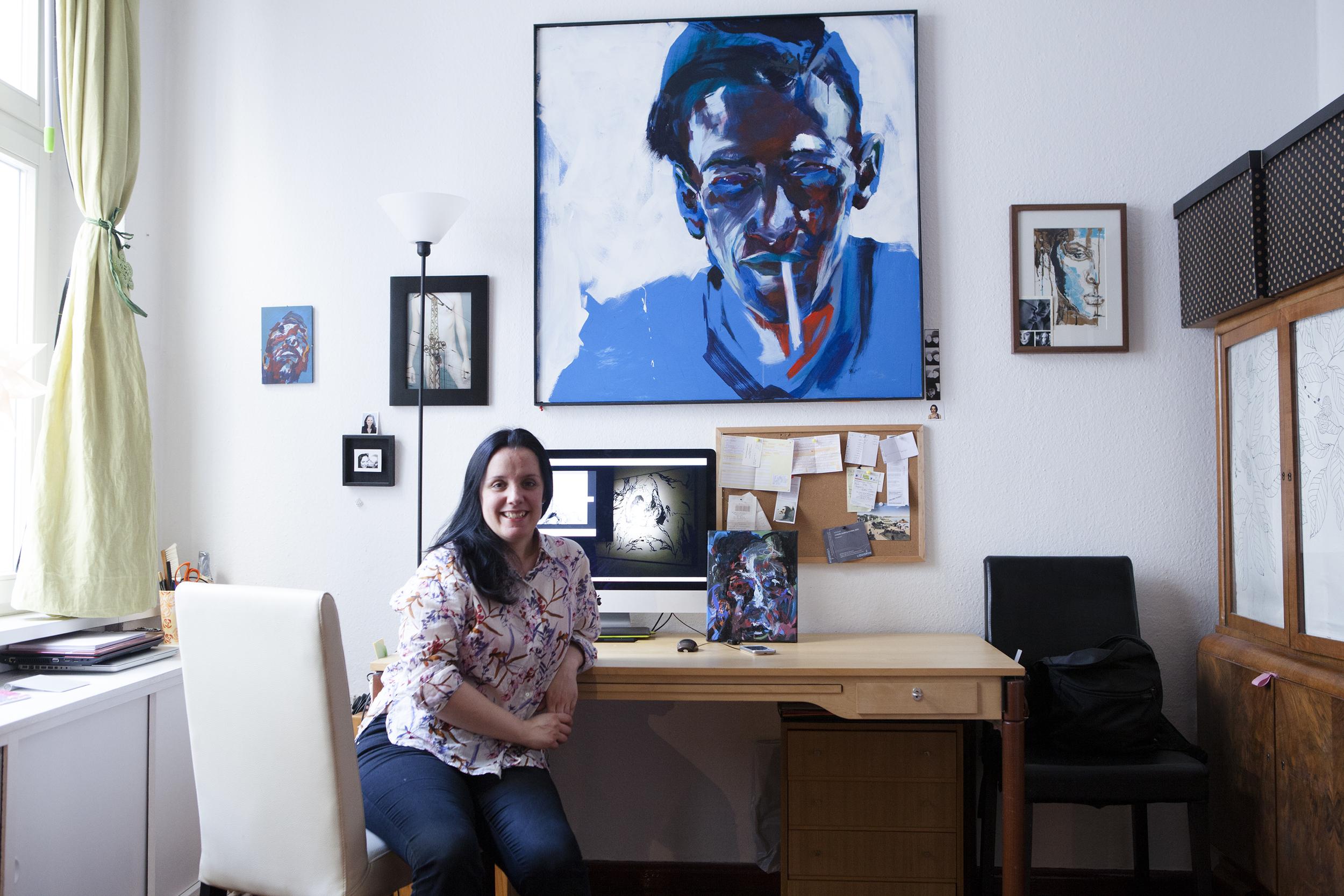 Beatriz Crespo    Visual Artist - Berlín