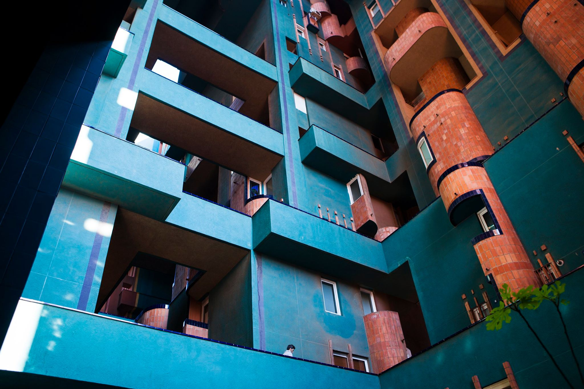 Walden Building    Bofill - Barcelona