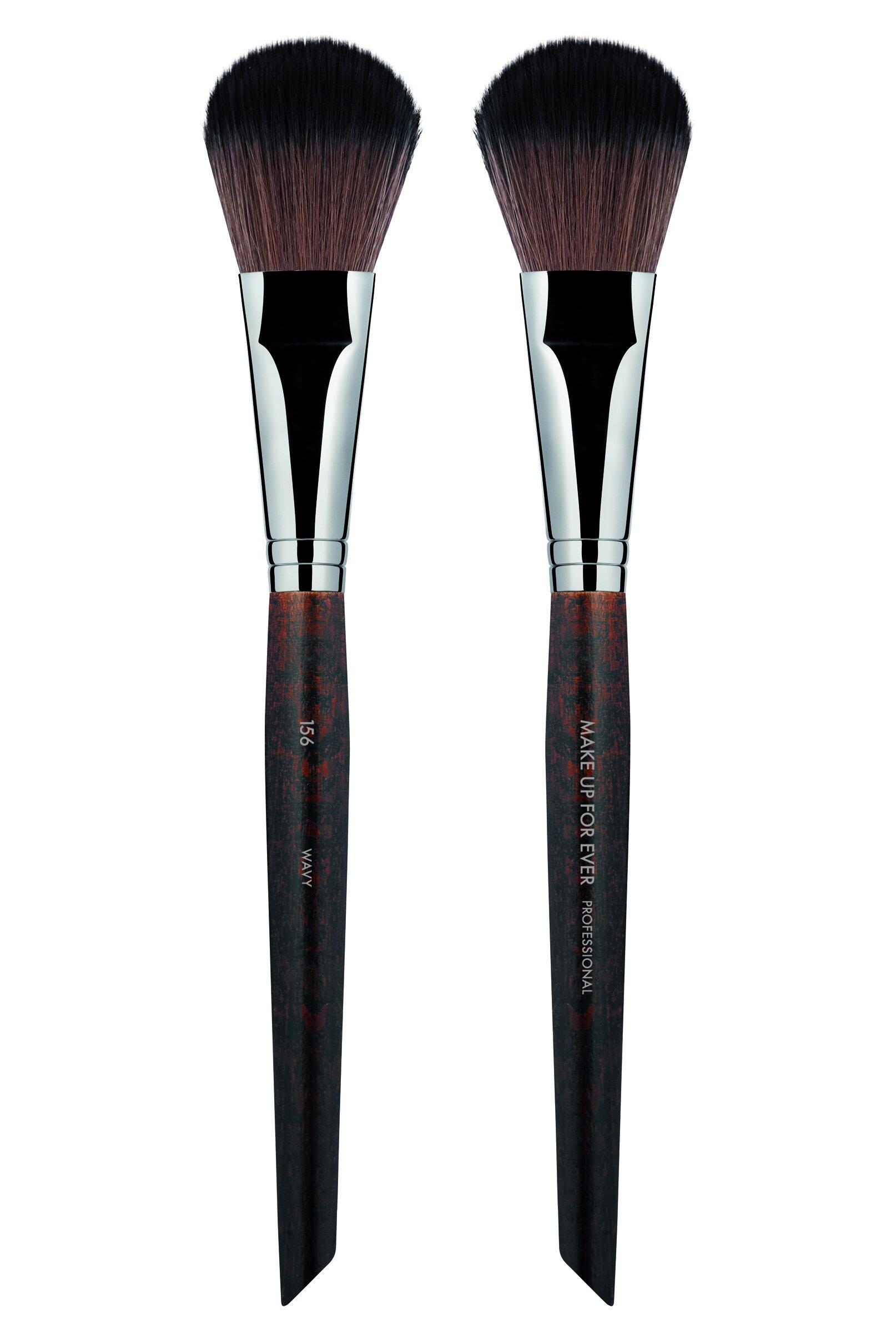 Make Up For Ever 156 Large Flat Blush Brush — JEN EVOY ...