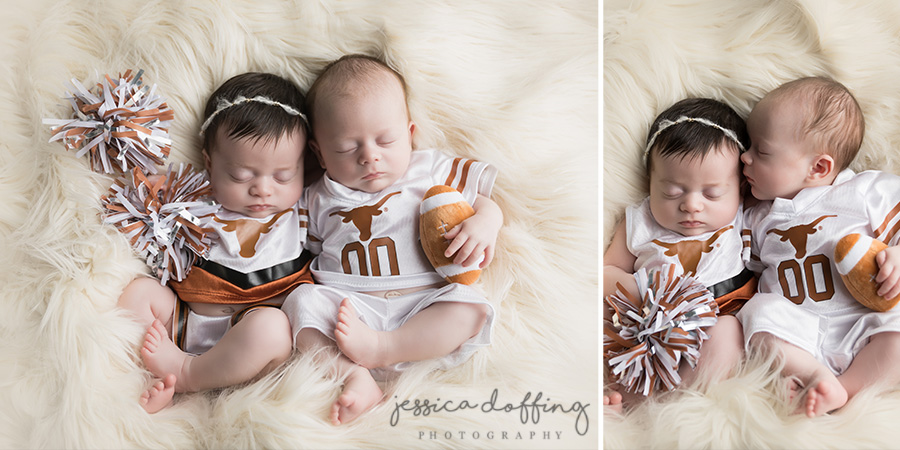 Are they not the cutest little Longhorns you ever saw?