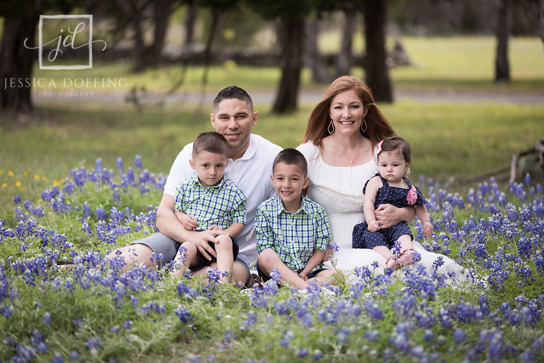 family bluebonnets