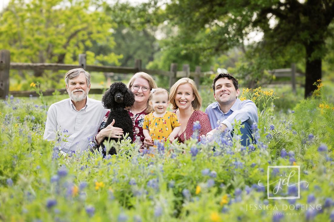 extended family bluebonnets austin texas