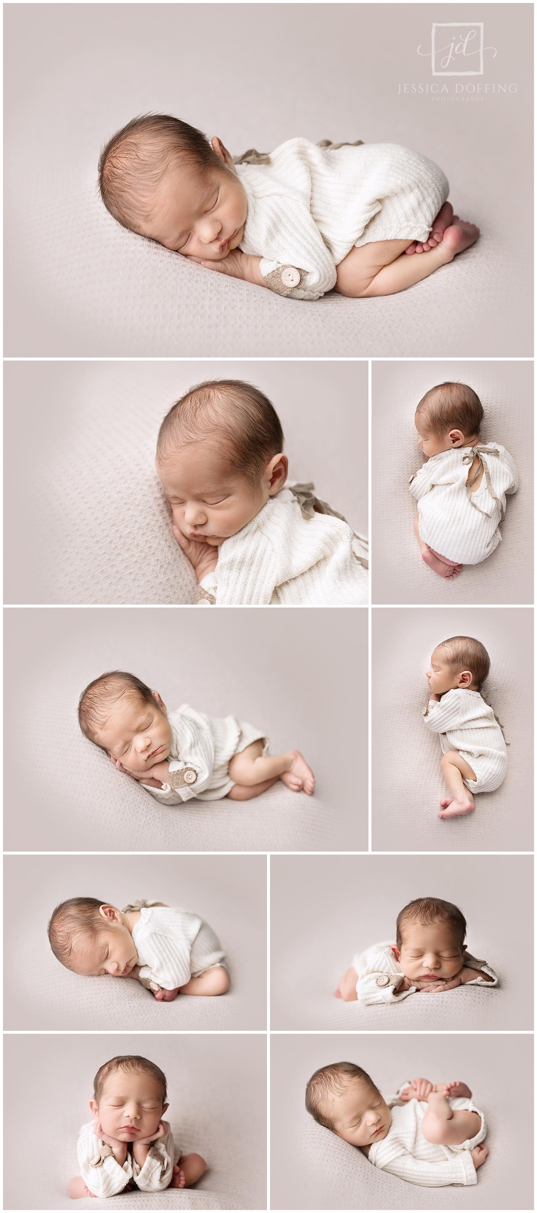 newborn beanbag poses Austin Texas