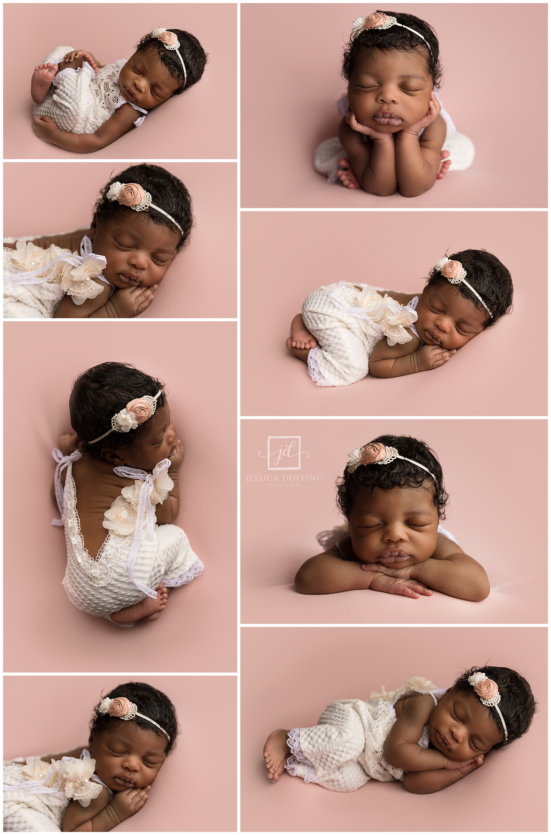 She really perfected every pose I put her in!