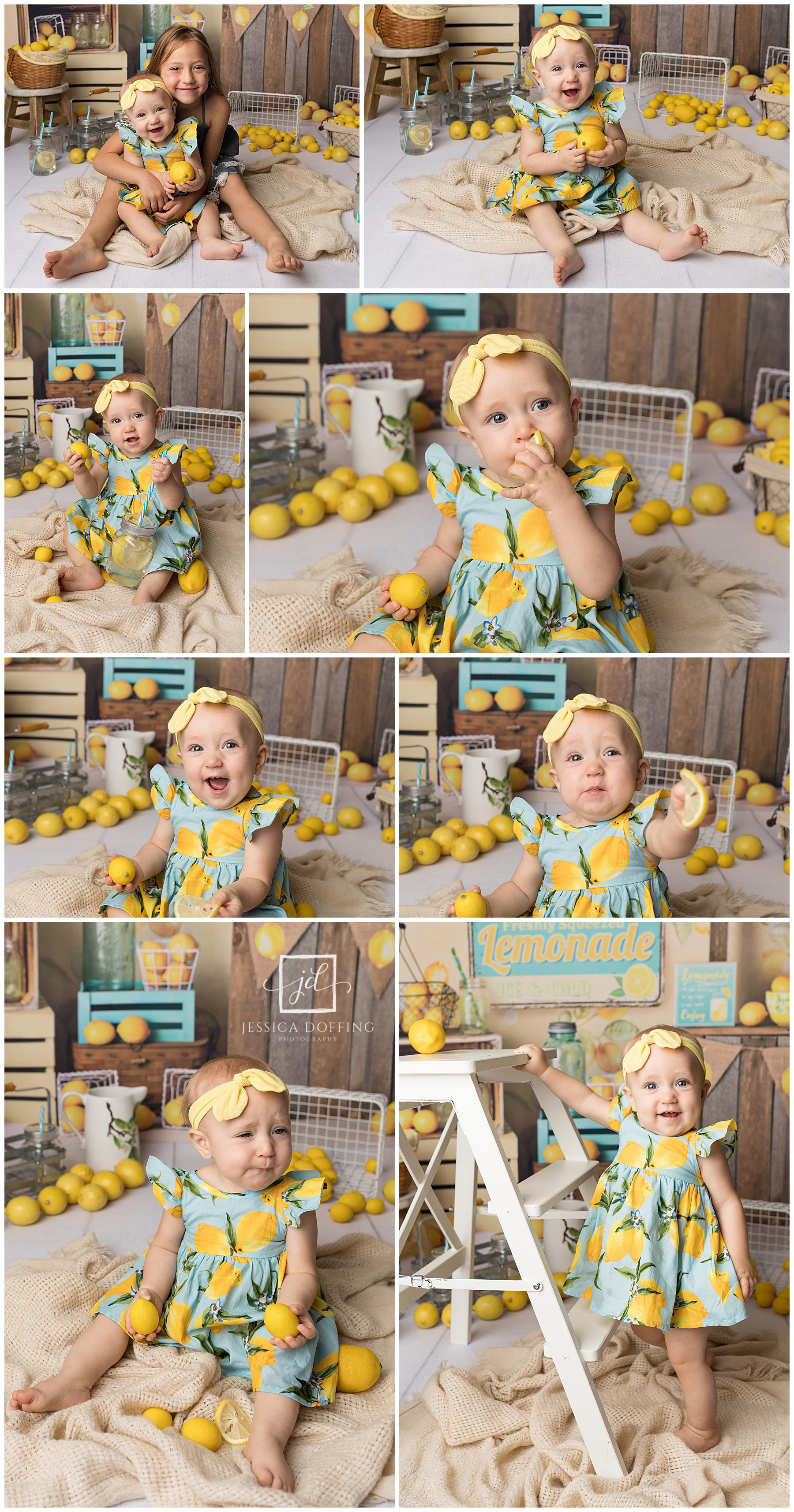 austin texas baby lemon mini session