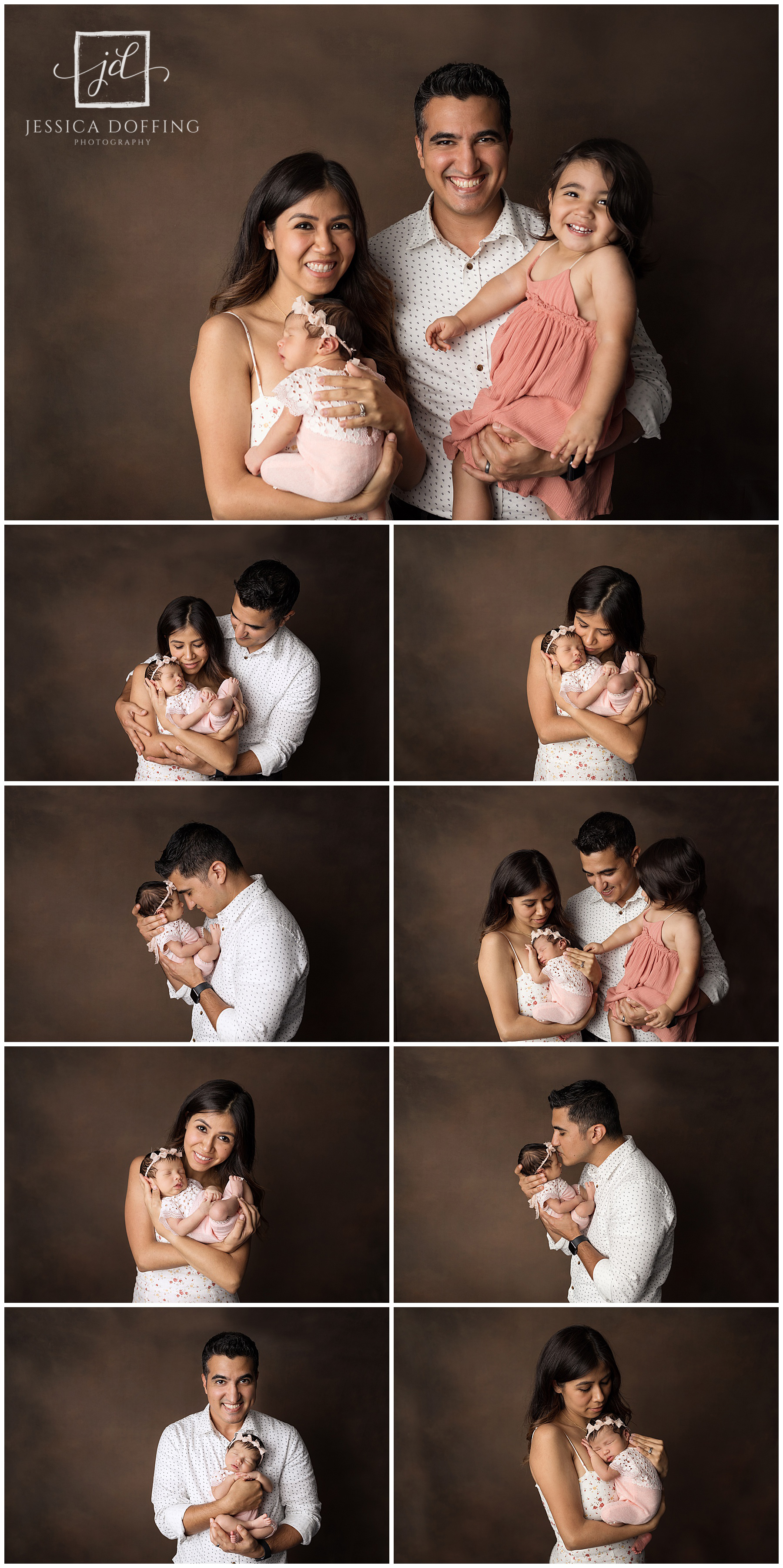 newborn family portraits