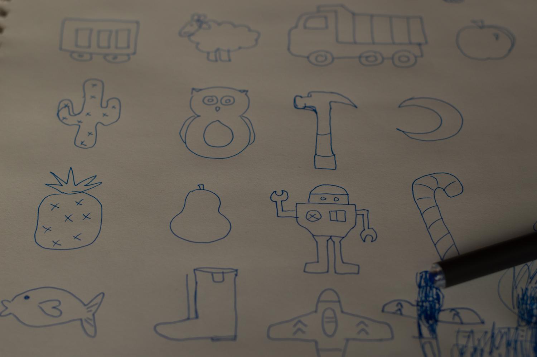 Ideas for the felt ornaments