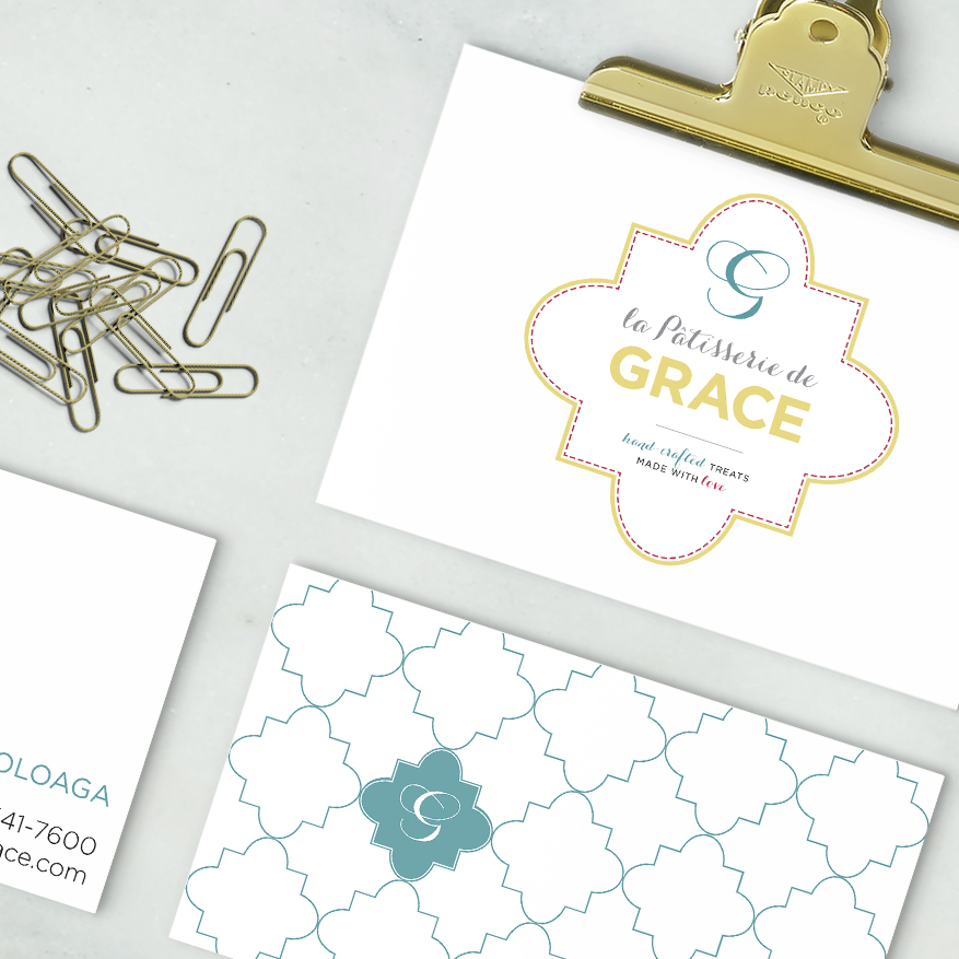 LA PATISSERIE DE GRACE      •   branding web design photography print packaging