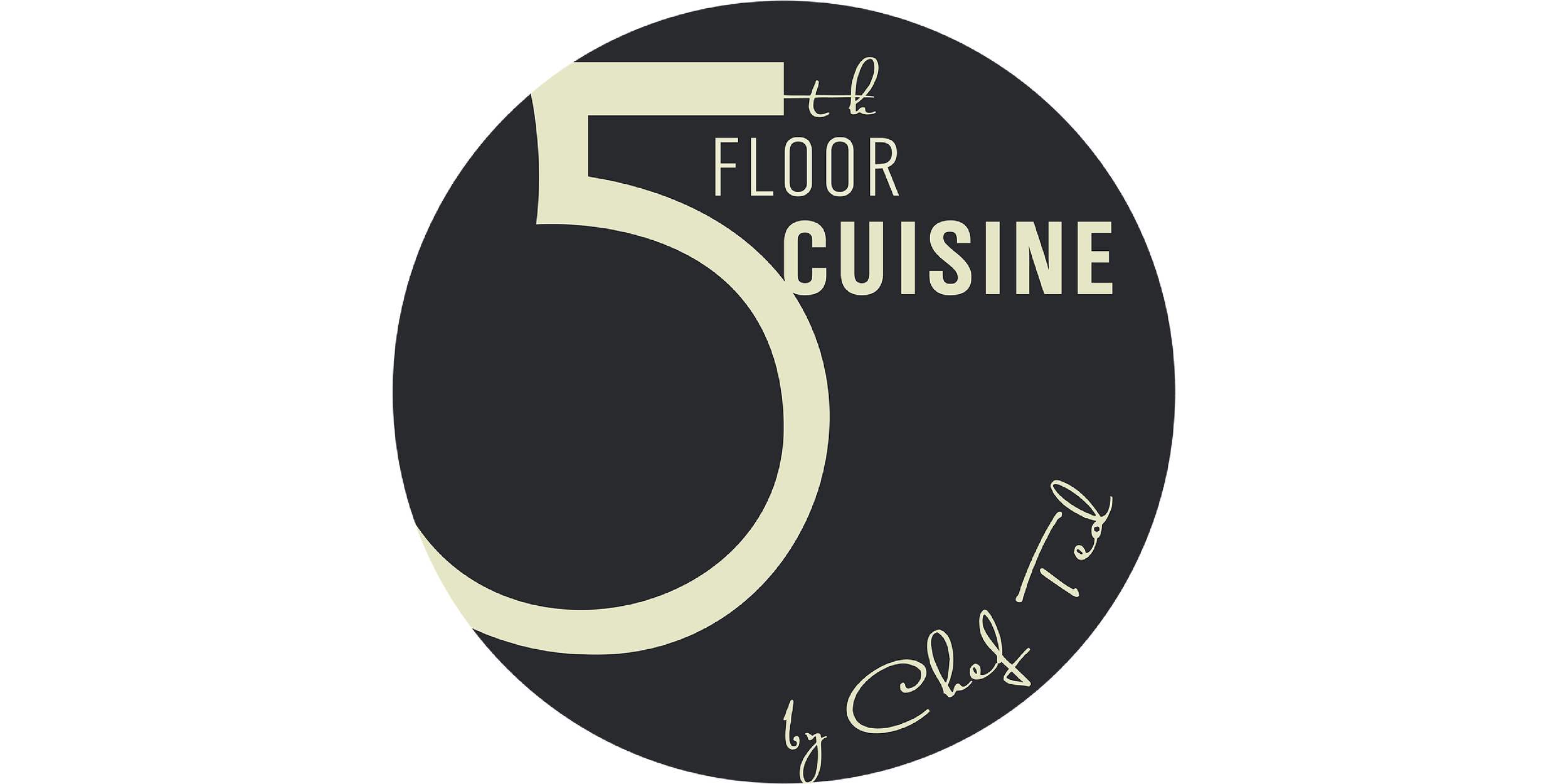 Final logo for 5th floor Cuisine branding