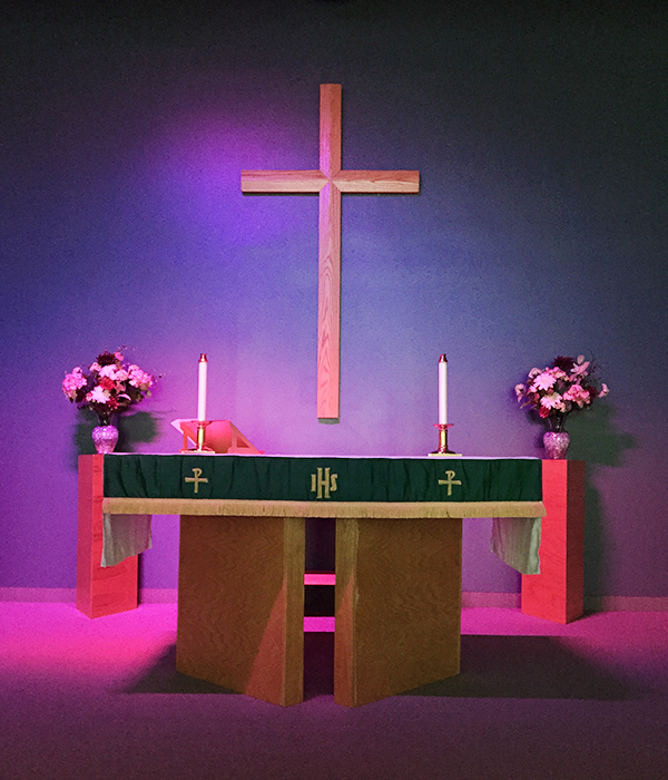 Redeemer Lutheran Church Chancel and Altar