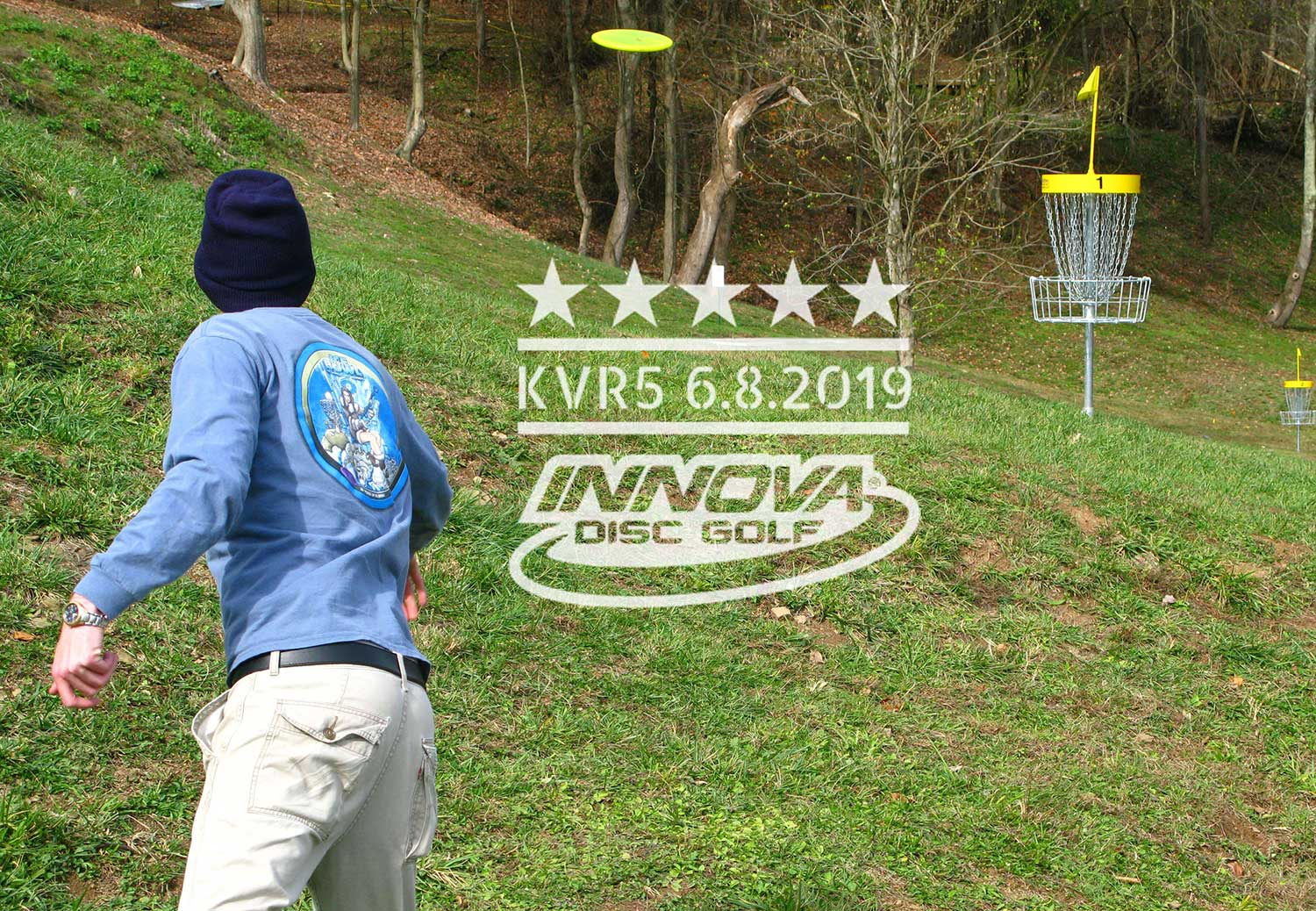 The 5th Annual Kanawha Valley Regional Disc Golf Tournament was held at Redeemer Park on June 8, 2019.