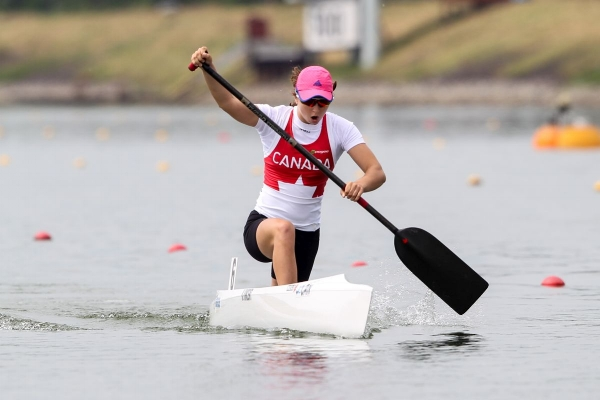 Katie Vincent competing in Racice, Czech Republic in 2016. Photo: Balint Vekassy / CKC