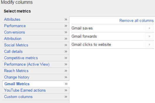 Gmail new reporting features