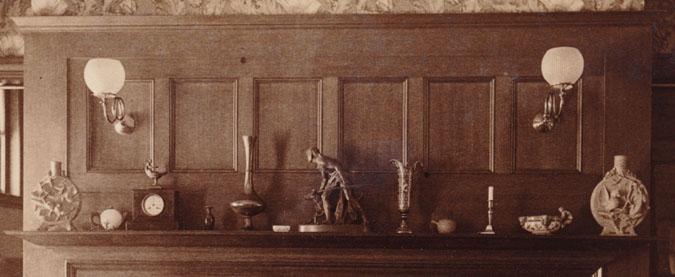 Master bedroom, Glessner house, c. 1888