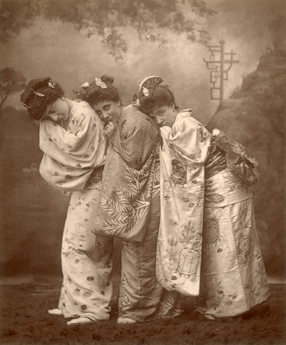 "The original ""Three Little Maids"""