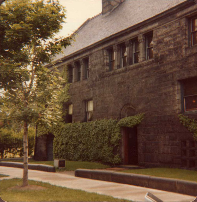 Glessner House, June 7, 1981 (photo by William Tyre)
