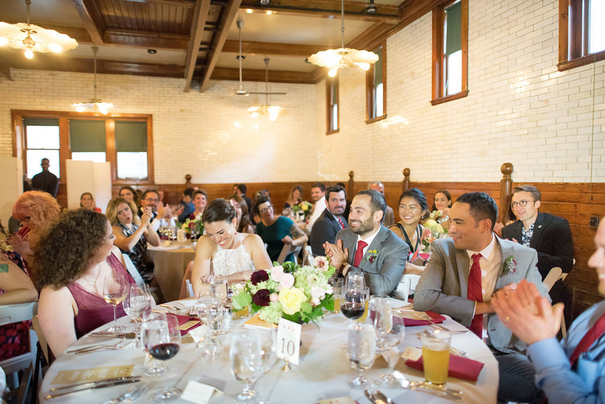 Coach house with guests seated.jpg